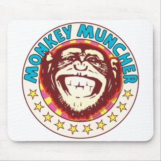 Muncher Monkey Mouse Pad