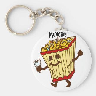 Munchie Basic Round Button Keychain