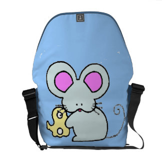 Munchie Mouse Messenger Bag