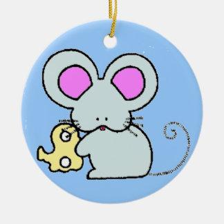 Munchie Mouse Ornaments