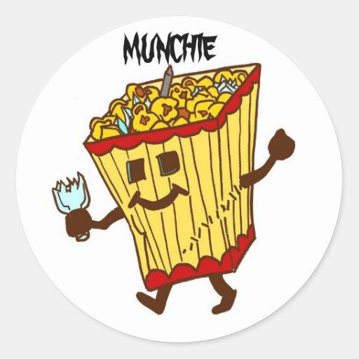 Munchie Stickers