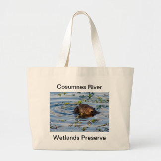 Munching Beaver collection Large Tote Bag
