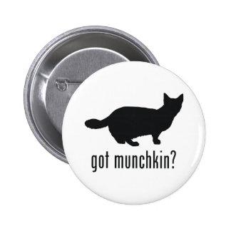 Munchkin Cat 2 Inch Round Button