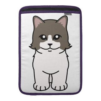 Munchkin Cat Cartoon MacBook Air Sleeve