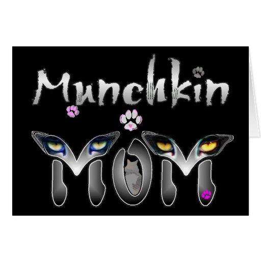 Munchkin Cat Mom Gifts Card