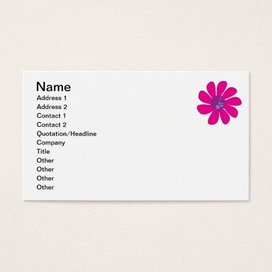 Munchkin Daisy Business Cards