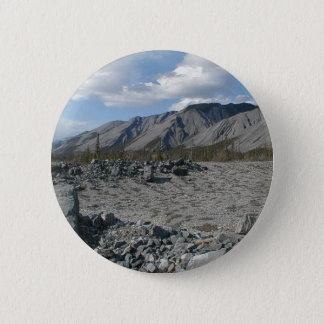 Muncho Lake, Yukon, Canada Pinback Button