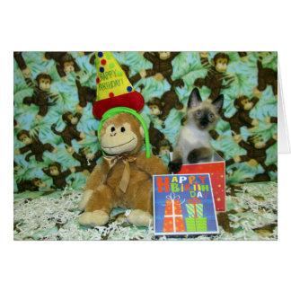 Munch's Birthday Wishes Card