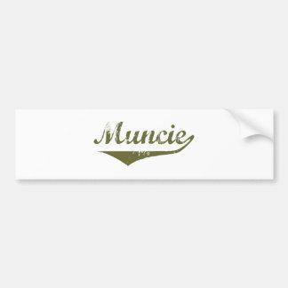 Muncie  Revolution t shirts Car Bumper Sticker