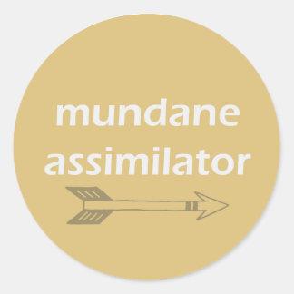 Mundane Assimilator sticker
