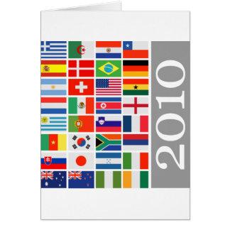 Mundial 2010 del Fifa Felicitacion