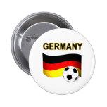mundial 2010 del fútbol del fútbol de Alemania Pins