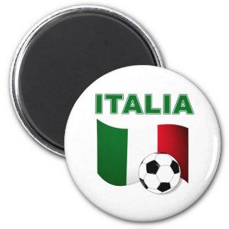 mundial 2010 del fútbol del fútbol de Italia Imán Redondo 5 Cm