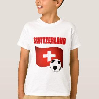 mundial 2010 del fútbol del fútbol de Suiza Polera