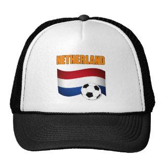 mundial 2010 del fútbol del fútbol del netherland gorra