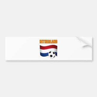 mundial 2010 del fútbol del fútbol del netherland pegatina para auto