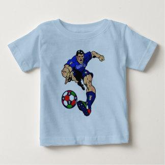 Mundial 2014 del fútbol de Azzurri Italia Italia Playera Para Bebé