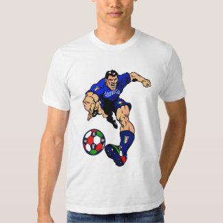 Mundial 2014 del fútbol de Azzurri Italia Italia Remeras
