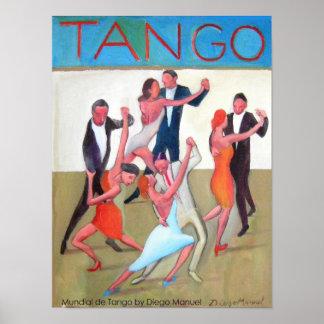 Mundial de tango póster