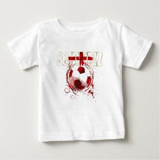 Mundial del fútbol - el Brasil 2014 suizos señala Polera