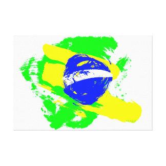 Mundial del fútbol - el Brasil Impresiones En Lona Estiradas