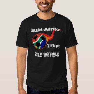 Mundial - Suráfrica contra. El mundo Camisas