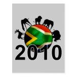 Mundo 2010 de Suráfrica Postal