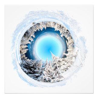 Mundo #2 del invierno fotografía