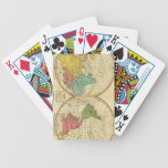 Mundo. 3 baraja de cartas