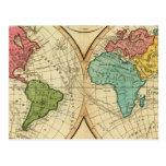 Mundo 3 postales