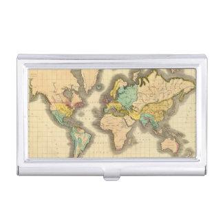 Mundo 6 caja de tarjetas de visita