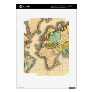 Mundo 6 pegatina skin para iPad 3