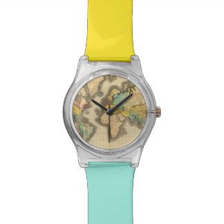 Mundo 6 reloj