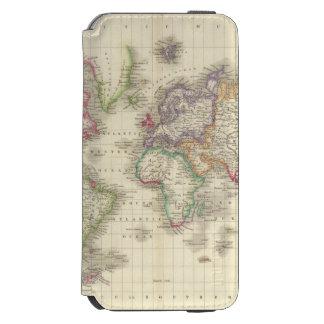 Mundo 9 funda cartera para iPhone 6 watson