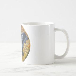 Mundo a venir taza de café