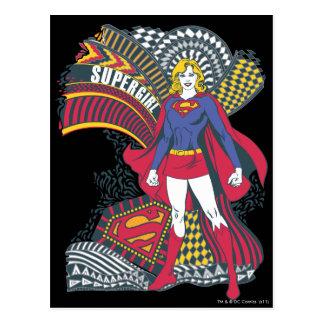 Mundo al azar 1 de Supergirl Postal