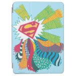 Mundo al azar 3 de Supergirl Cover De iPad Air