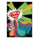 Mundo al azar 3 de Supergirl Felicitación