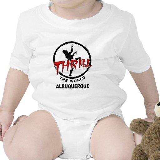 Mundo Albuquerque del trhe de la emoción Trajes De Bebé