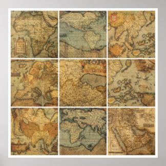 Mundo antiguo póster