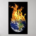 Mundo ardiente posters