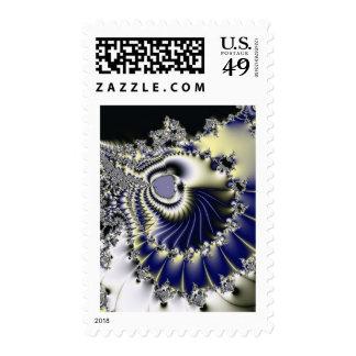 Mundo asombroso del fractal sello