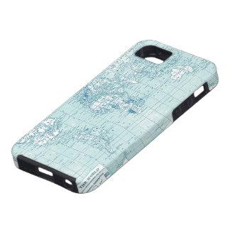 Mundo azul fresco - colección iPhone 5 Case-Mate coberturas