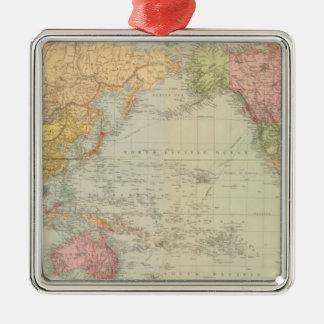 Mundo compuesto en la proyección de Mercator Adorno
