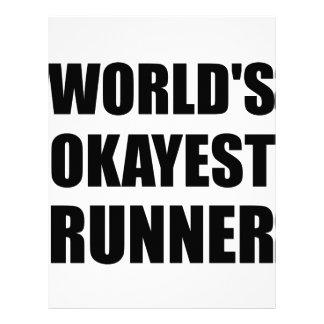 ¿Mundo? corredor de s Okayest Membrete