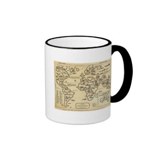 Mundo de animales taza de café