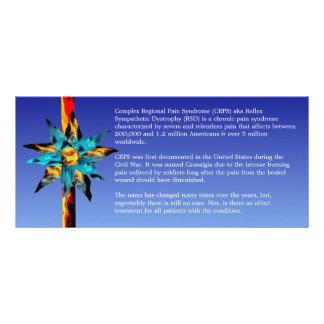 Mundo de CRPS RSD de la tarjeta del estante de la Diseño De Tarjeta Publicitaria