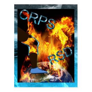 Mundo de CRPS/RSD 'una postal ardiente de la