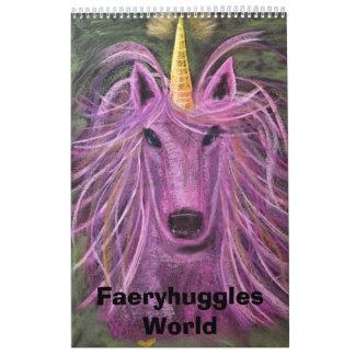 Mundo de Faeryhuggles Calendarios De Pared