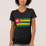 Mundo de la bandera de Togo Camiseta